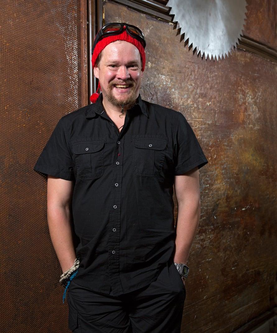 """Ville Haapasalo on perustanut georgialaisen ravintolan Helsinkiin. Kuva: <span class=""""photographer"""">Ari K. Ojala</span>"""