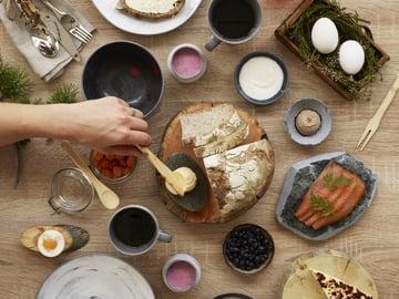 Hilla, leipäjuusto ja muut pohjoisen herkut ovat Lapland Hotelsin aamiaisen sielu.