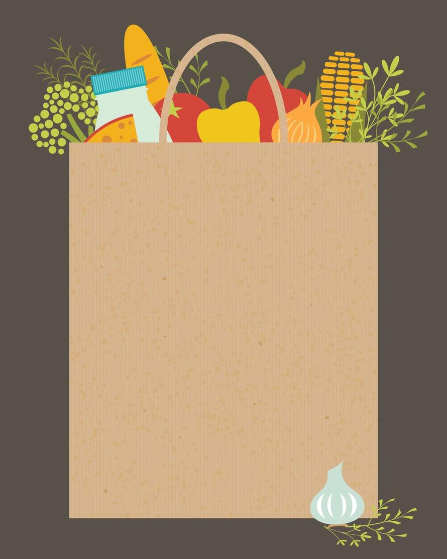 """Ruokakassipalveluissa raaka-aineet ja reseptit kootaan valmiiksi kassiin. Kuva: <span class=""""photographer"""">iStock</span>"""