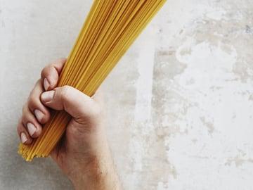 Käytä sitä pastaa, mitä kotoasi sattuu löytymään. Kuva: Panu Pälviä