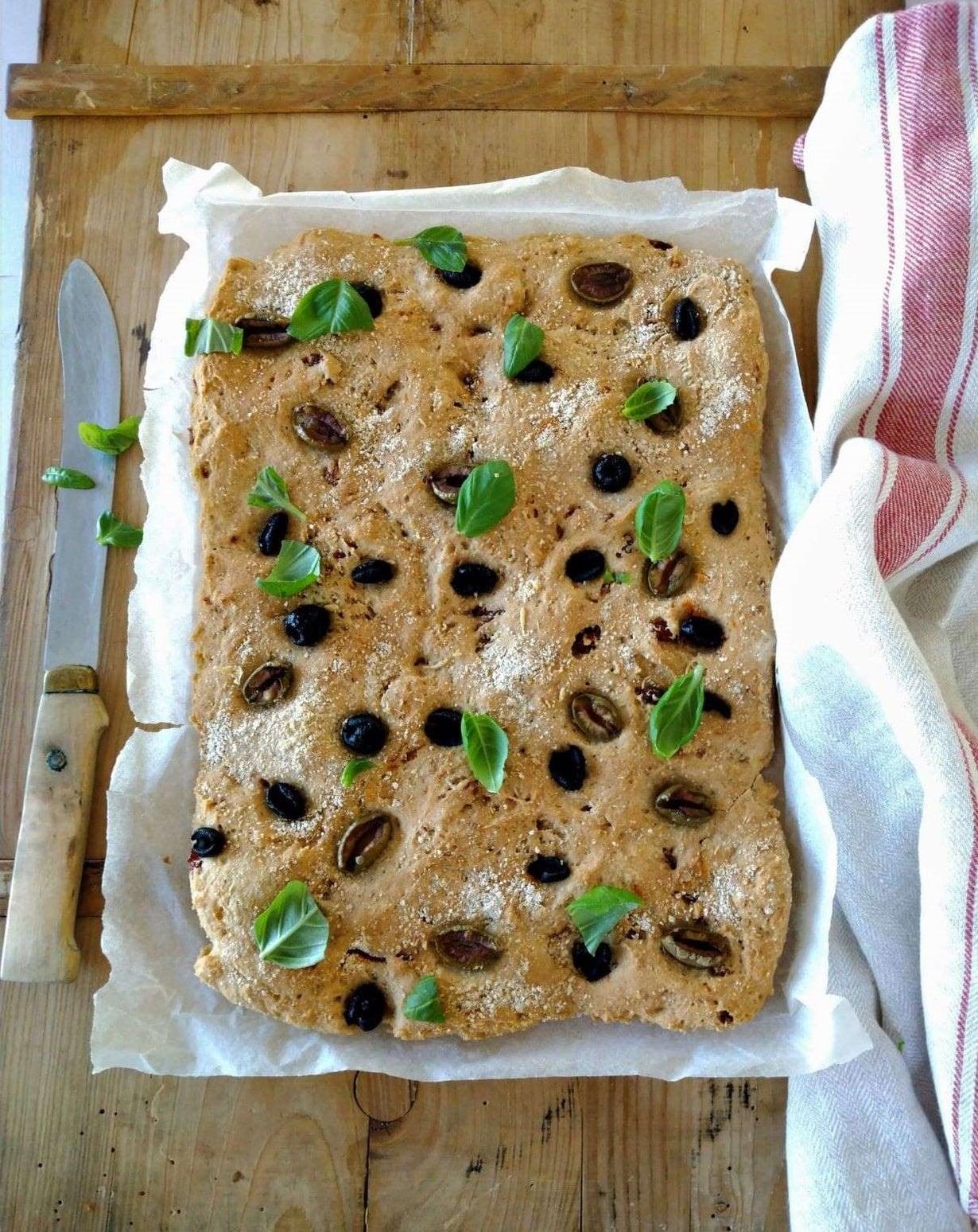 Etsitkö maukasta gluteenitonta leipäohjetta? Kokeile focacciareseptiä!
