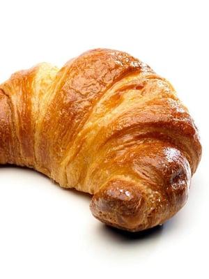 Erinomainen croissant on kauttaaltaan hyvin lehtevä, ja ohuenohuiden taikinakerrosten välissä on ilmaa.