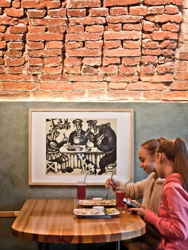 Pelmenya on yksi Pietarin parhaista pelmeniravintoloista.