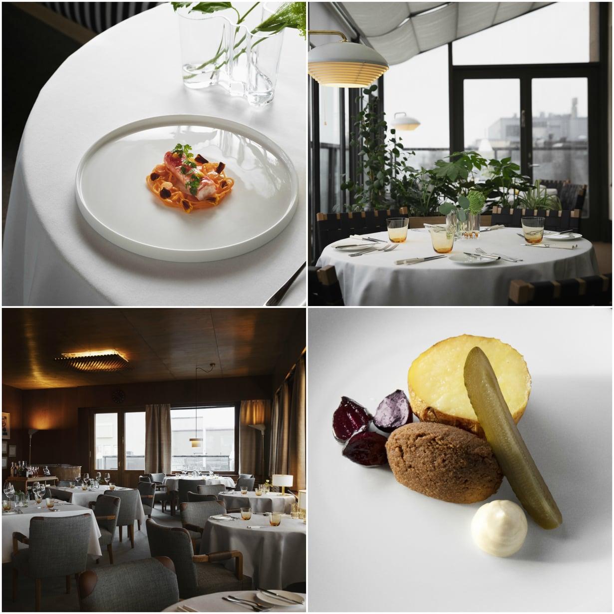 Savoyn ravintolasali on Helsingin kaupunginmuseon suojelema. Ruokalista noudattaa suomalais-ranskalaista linjaa.