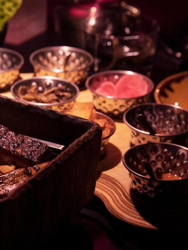 Barbecue on perinteistä korealaista parhaimmillaan.
