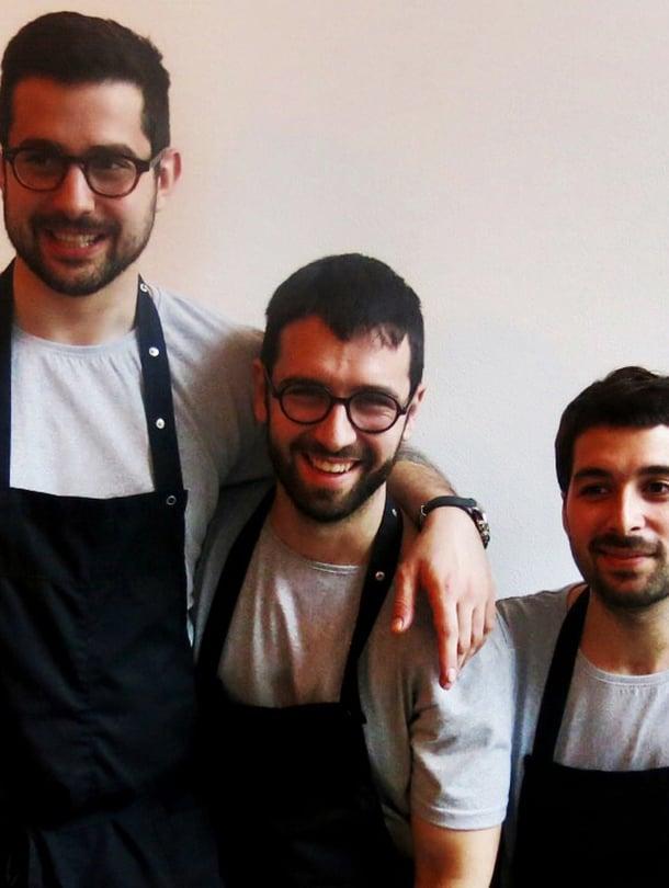 Luca Balac, Albert Sunyer ja Carlos Henriques ovat kokkikolmikko, josta kuulet vielä.