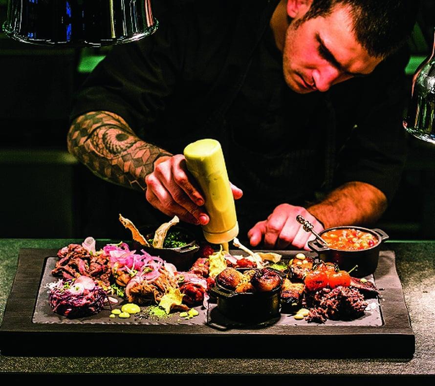 Ravintola Pull on lihansyöjän taivas.