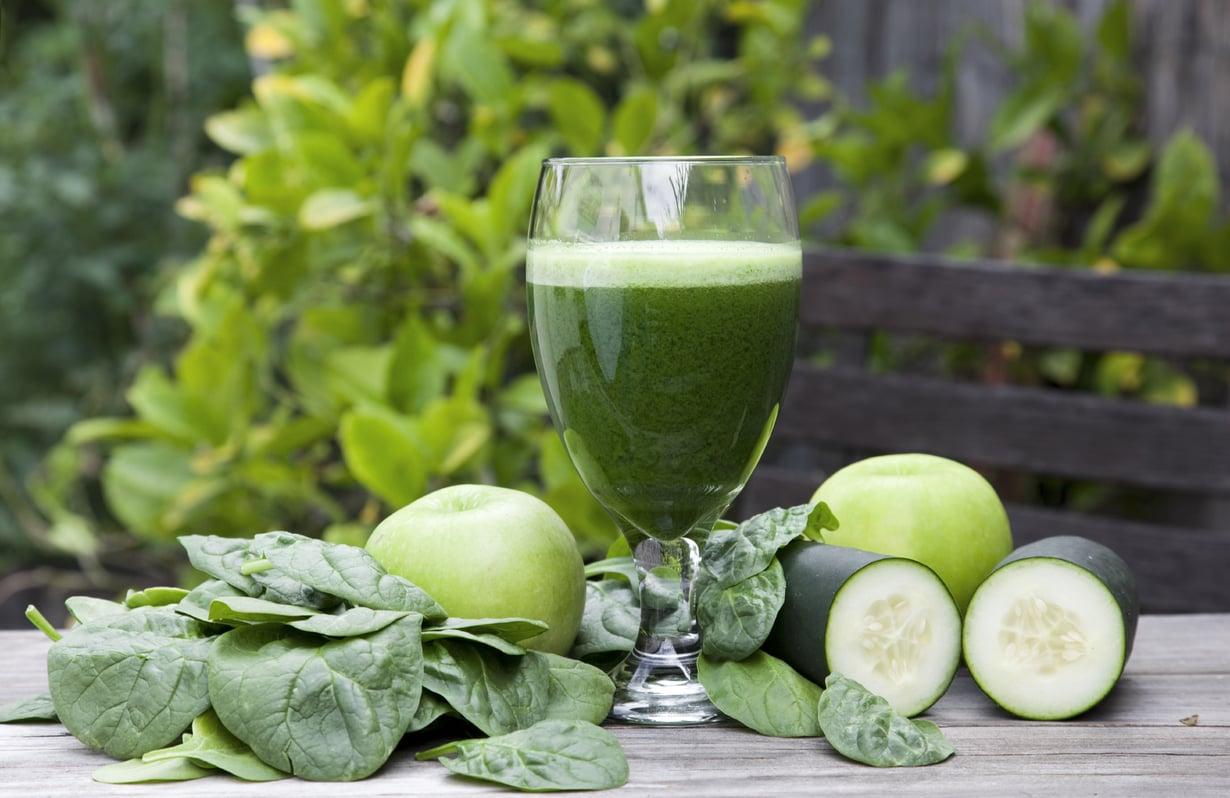 Terveysmehuun voi surauttaa itselleen mieluisaa vihreää. Kuva: Istockphoto.