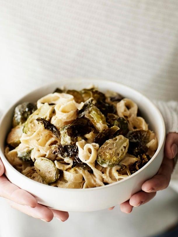 Paahdetut ruusukaalit sopivat hyvin esimerkiksi pastan höysteeksi.