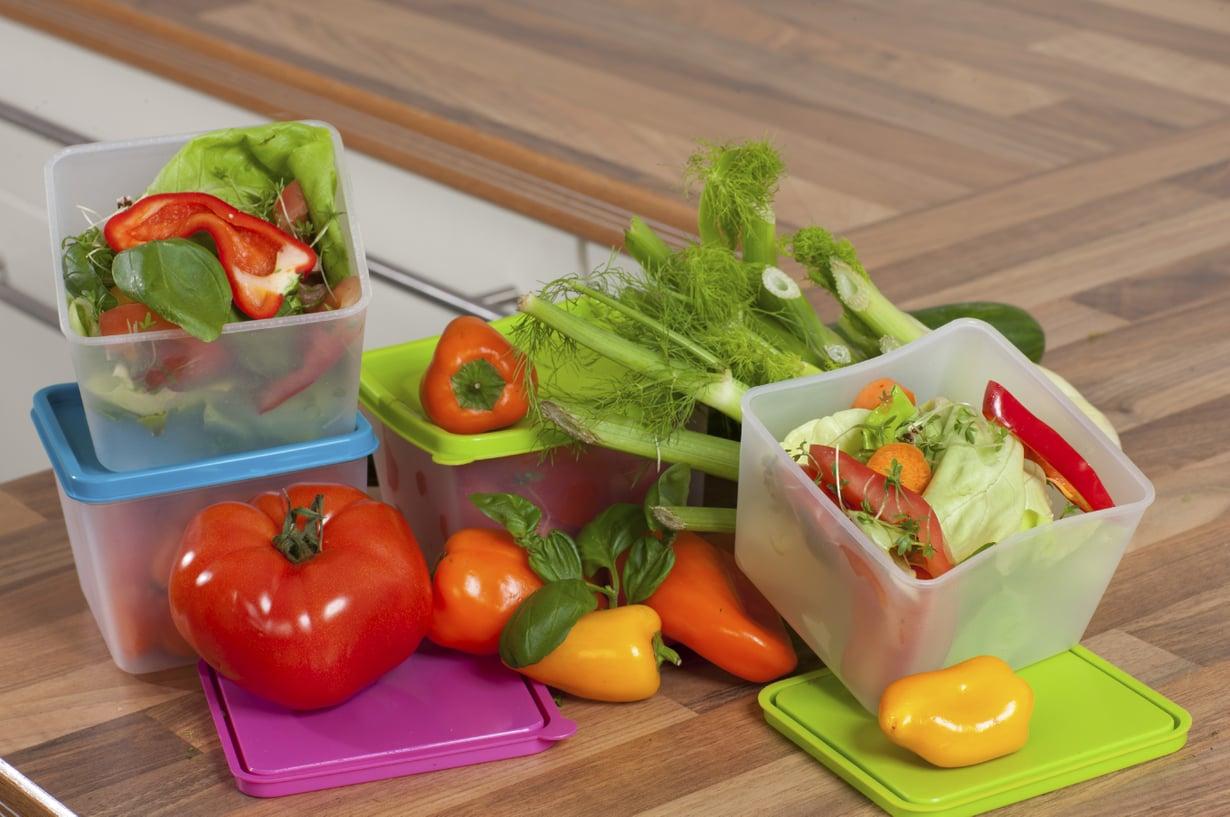 Mitä tekisit salaatinjämistä? Kuva: Istockphoto.