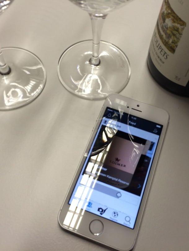 """Delectable hakee viinin tiedot kuvan perusteella käyttäjän puolesta. Kuva: <span class=""""photographer"""">Soppa365.</span>"""